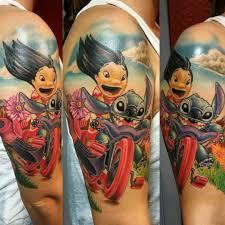 cartoon couple tattoos pin by tiffany stein on lilo and stitch pinterest tatt tattoo