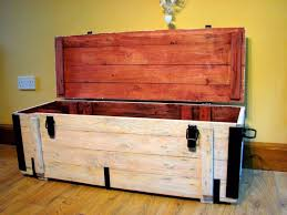 Decorative Trunks For Coffee Tables Coffee Tables Rustic Wood Trunk Wooden Storage Trunk Decorative