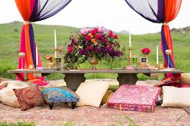 Outdoor Moroccan Furniture by Bold U0026 Beautiful A Moroccan Inspired Wedding Exquisite Weddings