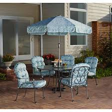 Mainstays Crossman 7 Piece Patio Dining Set Green Seats 6 Mainstays Willow Springs 6 Piece Patio Dining Set Blue Seats 5