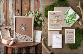 ideas for wedding guest book top 12 rustic wedding guest books botanical wedding invitations