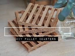 diy miniature pallet coaster youtube