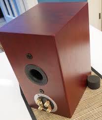 Bookshelf Speakers With Bass Monitor Audio Silver 1 Bookshelf Loudspeaker Rear View