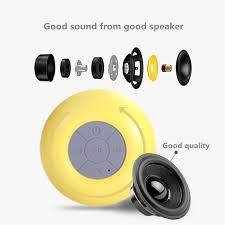 Bluetooth Speakers For Bathroom Bijela Bts06 Waterproof Wireless Bluetooth Speaker Mini Portable