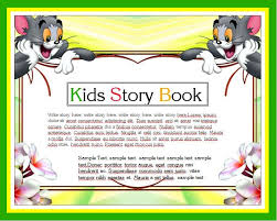 kids story writing book template word u0026 excel templates