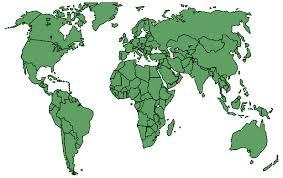 printable world map a1 political green transparent world map a1 free world maps