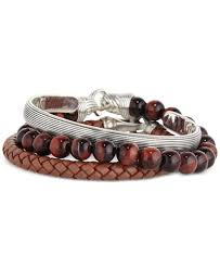 stackable bracelets esquire men s jewelry stackable bracelets created for macy s