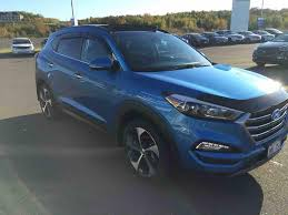 hyundai tucson night used 2016 hyundai tucson limited ultimate in grand falls used