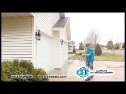 Home Exterior Cleaning Services - house cleaning services complete exterior cleaning eau claire