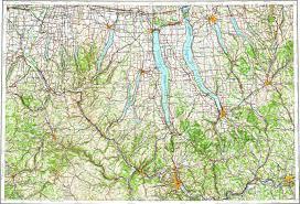 Ithaca Map Download Topographic Map In Area Of Auburn Ithaca Elmira