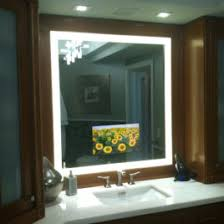Led Light Mirror Bathroom Led Lighted Bathroom Mirror Master Of L And Lighting Aguasomos