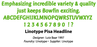 Trading Card Designer Bowfin Printworks Featured Faces Font Samples Font