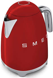 Red Kettle And Toaster Smeg Klf01rdus Electric Kettle With 56 Oz Capacity Soft Opening
