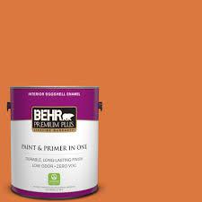 interior paint home depot behr premium plus 1 gal p210 7 japanese koi eggshell enamel