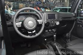 jeep rubicon black jeep wrangler black edition ii 2015 geneva live