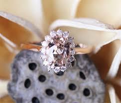 princess diana morganite ring79mm oval cut morganite