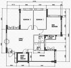 floor plans for buangkok crescent hdb details srx property