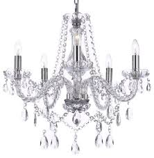 Plastic Crystals For Chandeliers Authentic Crystal Chandelier Traditional Chandeliers By Gspn