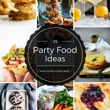 25 party finger food ideas sweet swanky simple u0026 spirits