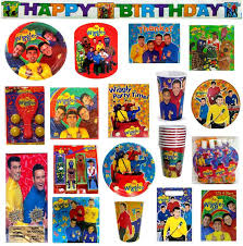 vgt the wiggles birthday party supplies pick only what u need