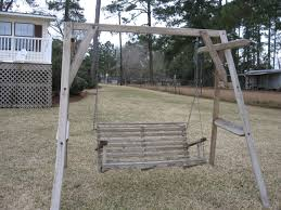 just an old wooden swing 02 23 2010 bree u0027s lake blackshear blog