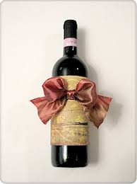 wine bottle bows gift decorating step by step to create the