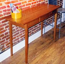Kitchen Side Table Shaker Furniture To Fit Fair Kitchen Side Tables Home Design Ideas