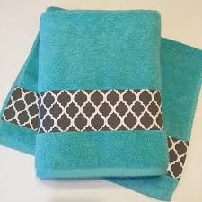 Teal And Grey Bathroom by Grey Aqua Bath Towels Bathroom Towel Bath Towel Hand Towel