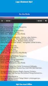 download mp3 gus azmi ibu aku rindu download lagu shalawat gus azmi mp3 offline google play softwares