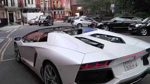Lamborghini Aventador Engine - white lamborghini aventador lp 700 4 engine noise youtube