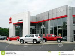 toyota car dealership toyota car and truck dealership editorial photography image
