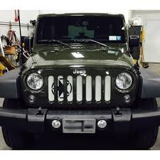 jeep wrangler front grill under the sun oscar mike wrangler jk grille insert oscar mike star