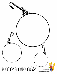 tree ornaments coloring pages lights decoration