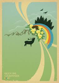 design poster buy enjoy the countryside retro poster design by dirk petzold graphic