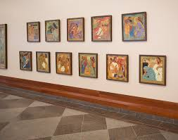 conference art exhibit celebrates women of the bible church news