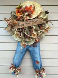 Easy Halloween Wreath by A Personal Favorite From My Etsy Shop Https Www Etsy Com Listing