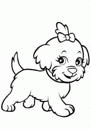 adorable puppy coloring pages coloring home