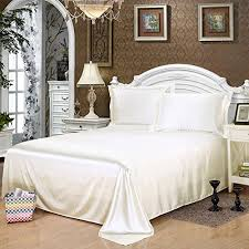 White Silk Bedding Sets Silk Bedding Sheets Discounted Season Sale Beds And Bed Sets