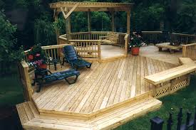 when can i paint stain or seal my new pressure treated wood deck