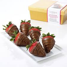 Where To Buy Chocolate Covered Strawberries Locally Milk Chocolate Covered Strawberries Half Dozen Godiva