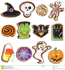 cute halloween cookies clipart royalty free stock image image