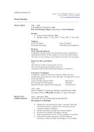 resume exles for college internships chicago resume sles science jobs cv 1 jobsxs com