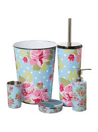 linea pretty floral bathroom accessories house of fraser floral