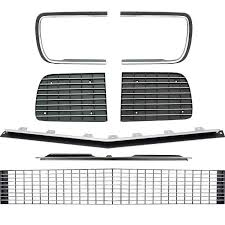1967 camaro kit chevrolet camaro parts exterior trim grill components