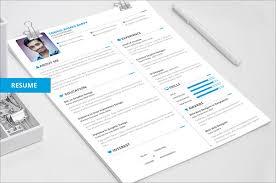 cv templates creative 22 free creative resume template design