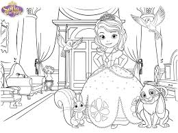 sofia coloring pages free coloring pages kids