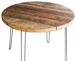 round hairpin coffee table antique barnwood coffee table with hairpin legs rustic coffee 36