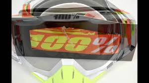 mirrored motocross goggles 100 racecraft goggles airstream mirror lens limited edition