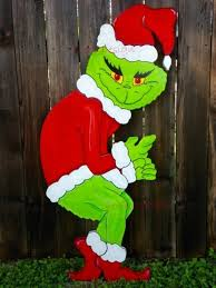 grinch outdoor decoration lights decoration