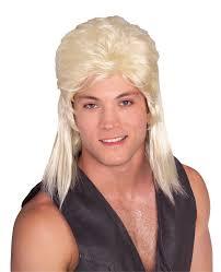 halloween wigs walmart com rubie u0027s mullet black wig walmart canada